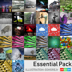Fireworks atmospheres contenu : 16 volumes,  37 hours of outside and inside ambiances and sounds