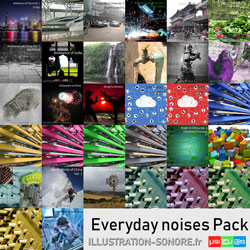Noises of everyday life Vol. 2 contenu : 2 volumes, more than 4 hours objects and everyday life noises