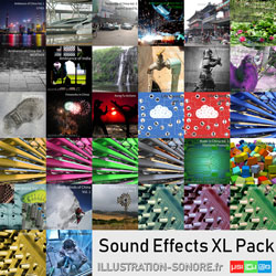 Tools and industries contenu : 13 volumes, more than 22 hours of real and synthetic sound effects
