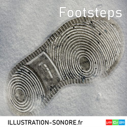 FOOTSTEPS Catégorie SOUND EFFECTS